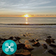 Beach Sunrise Aerial 6 - VideoHive Item for Sale