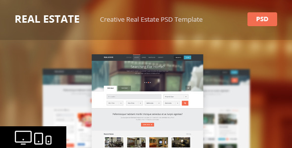 Commercial Property Website Templates From Themeforest