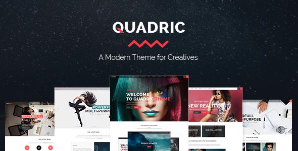 Quadric - Modern Creative Agency Theme