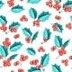 Mistletoe Seamless Pattern. - GraphicRiver Item for Sale