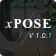 xPose - Responsive Startup Landing Page - ThemeForest Item for Sale