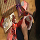 Woman Fills a Christmas Stocking - VideoHive Item for Sale