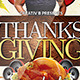 Thanksgiving Party Flyer Template 2 - GraphicRiver Item for Sale