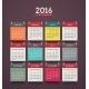 Calendar 2016 - GraphicRiver Item for Sale