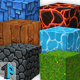 Hand painted texture pack - 3DOcean Item for Sale