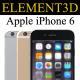 Element3D - iPhone 6 - 3DOcean Item for Sale