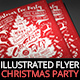Illustrated Christmas Party Invitation II - GraphicRiver Item for Sale