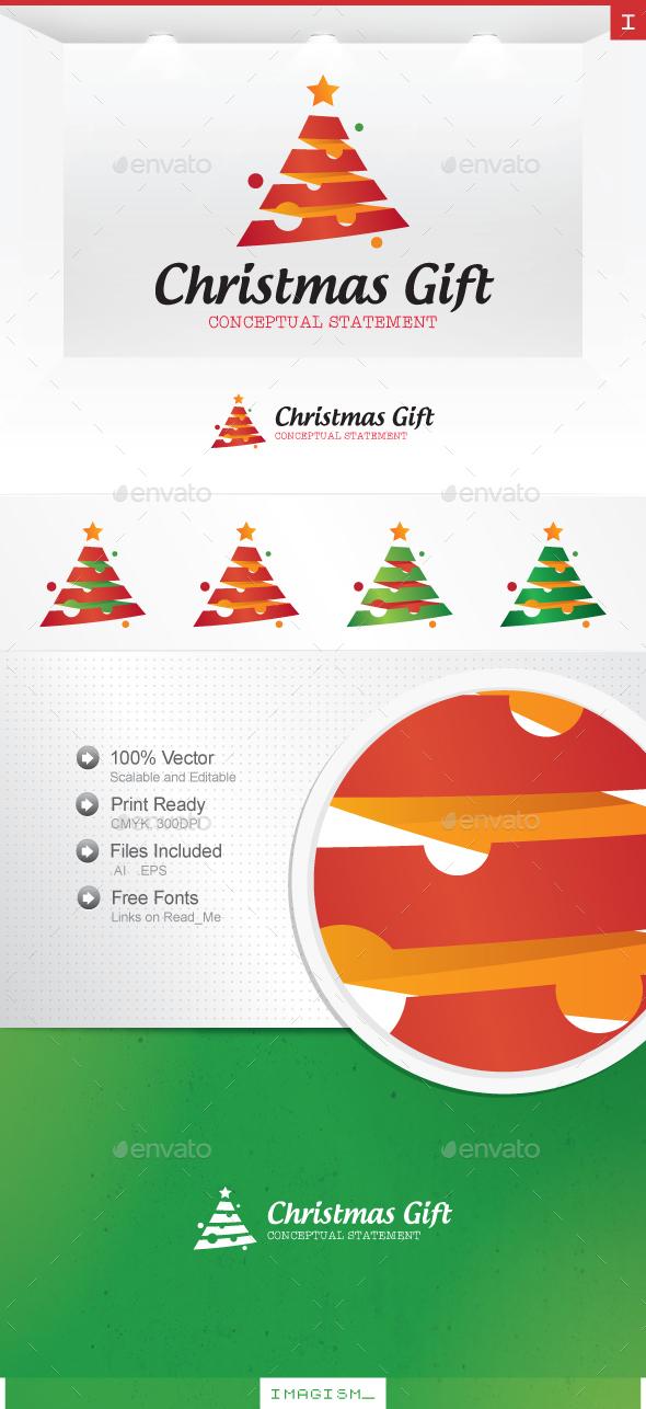 Christmas Gift Logo