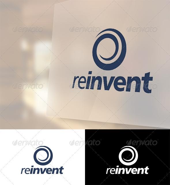 Reinvent Logo Template