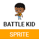 Boy Battle Kid Sprite - GraphicRiver Item for Sale