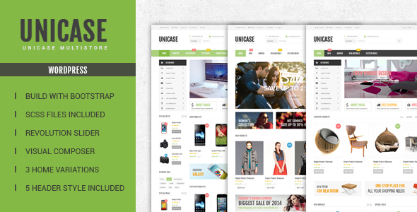 Unicase - Electronics Store WooCommerce Theme