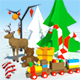 Low Poly Christmas Pack - 3DOcean Item for Sale