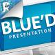 Blue'd Keynote Presentation - GraphicRiver Item for Sale