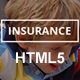 Insurance Responsive HTML5 Template - ThemeForest Item for Sale