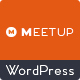 Meetup – Conference Event WordPress Theme
