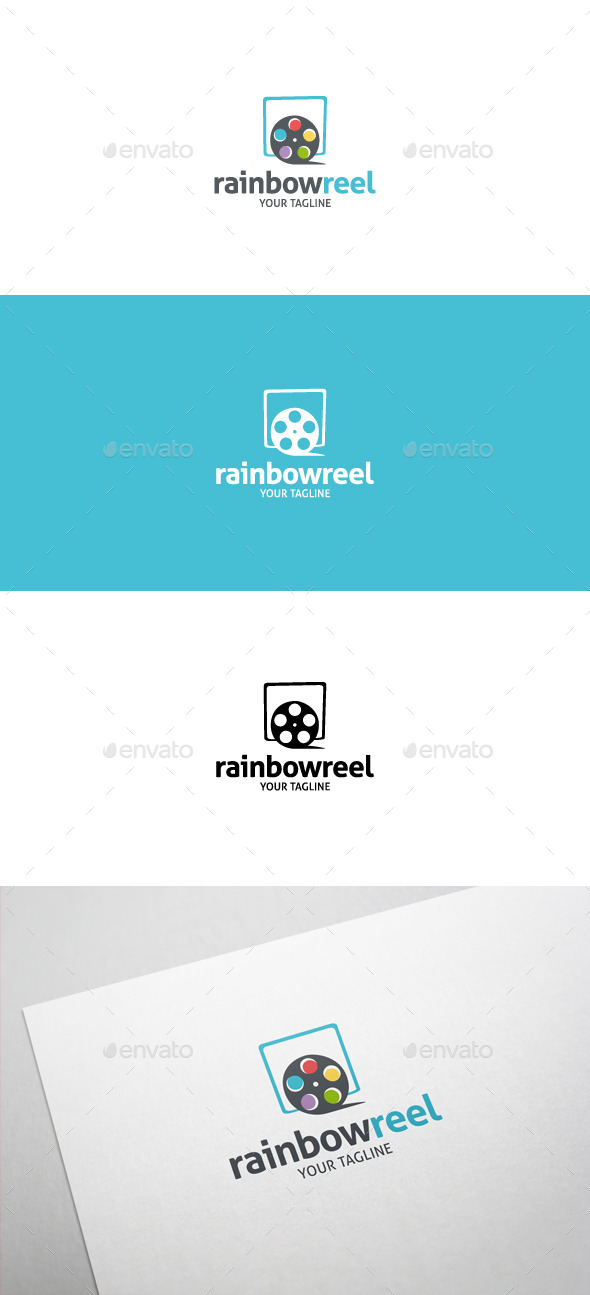 Rainbow Reel Logo