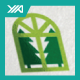 Window Forest - Eco Villa Logo - GraphicRiver Item for Sale