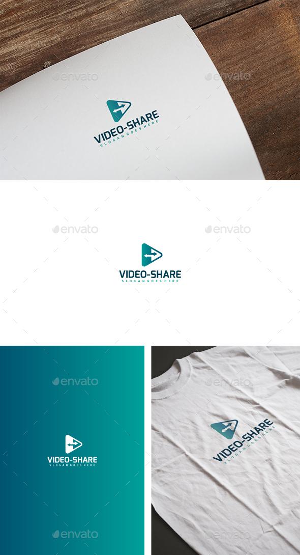 Video Media Share Logo
