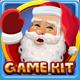 Christmas lights slots game kit - GraphicRiver Item for Sale