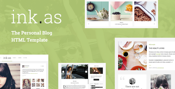 Inkas - The Personal Blog HTML Template