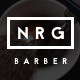 NRGbarber - Hairdressers, Barbershops & Coiffeurs - ThemeForest Item for Sale