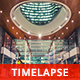 Futuristic Mall in the Modern City by Night - VideoHive Item for Sale