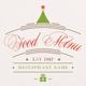 Winter & Christmas Food Menu II - GraphicRiver Item for Sale