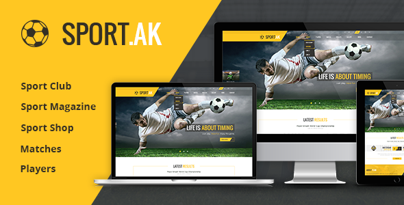 WordPress Sports Theme - SportAK
