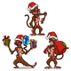 Cartoon Monkeys - GraphicRiver Item for Sale