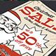 Vintage Christmas Sale Flyer - GraphicRiver Item for Sale