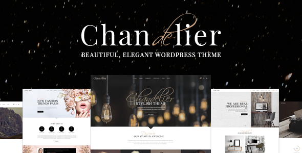 Chandelier - Luxury Theme for Custom Brands