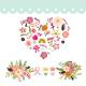 Love Floral Wedding Element - GraphicRiver Item for Sale