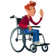 Disabled Boy. - GraphicRiver Item for Sale