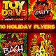 Christmas Holiday Flyer Bundle - GraphicRiver Item for Sale