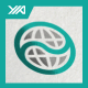 Global Wave - Internet Media Logo - GraphicRiver Item for Sale