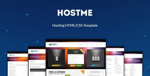 Hostme - Premium Hosting i szablon biznesowy