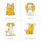 Dog Icons and Illustrations - GraphicRiver Item for Sale