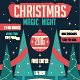 Christmas Night Flyer Template - GraphicRiver Item for Sale