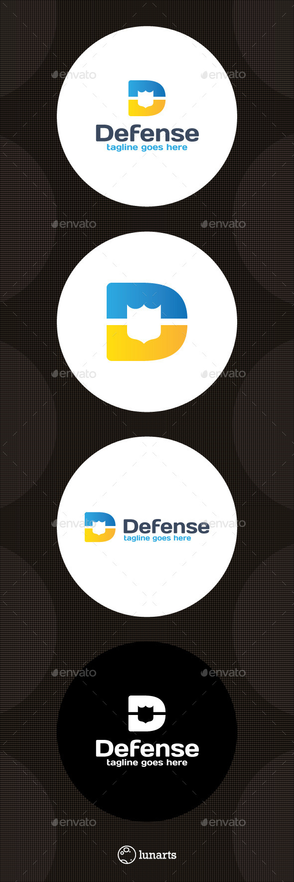 Defense Logo - Letter D