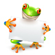 Tree Frog Message - GraphicRiver Item for Sale
