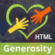 Generosity - Multipurpose Charity/Nonprofit HTML Template - ThemeForest Item for Sale