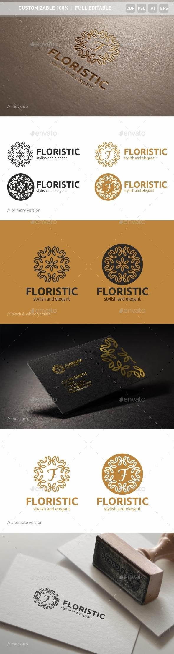 Floristic Logo Template