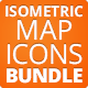 Isometric Map Icons - Bundle - GraphicRiver Item for Sale