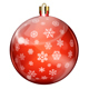 Christmas Balls With Snowflakes - GraphicRiver Item for Sale
