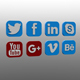 Social Icons Pack - 3DOcean Item for Sale