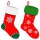 Set Of Christmas Socks - GraphicRiver Item for Sale