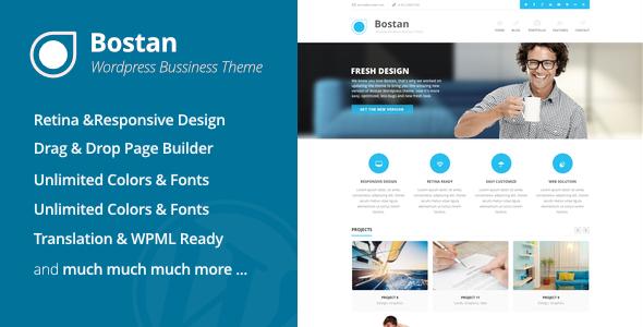 Bostan – Business Theme