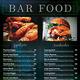 Bar Menu Flyer / Bi-fold Menu Template - GraphicRiver Item for Sale