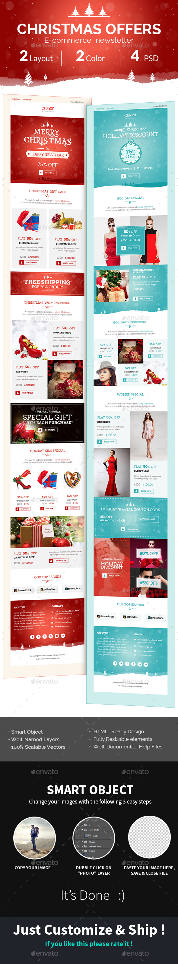 Electronics E Newsletter Templates From Graphicriver