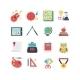 Education Icon Set - GraphicRiver Item for Sale